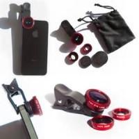 harga Lensa Jepit Kamera HP 3in1 (Lensa Fish Eye, Lensa Wide dan Lensa Macro Tokopedia.com