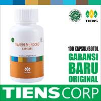 Tiens Promo Muncord Cordyceps Isi 100 Kapsul | Imunitas Herbal Tianshi