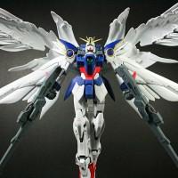 Bandai MG 1/100 gundam Wing zero custom ew termasuk stand base