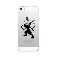 Jual Sticker Decal Apple iPhone 1set 2PCS - Kingdom Hearts Evil - Rina Shop Murah