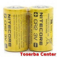 NITECORE CR2 Non-Rechargeable Lithium Battery 3V 1 PCS - Yellow