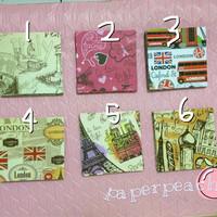 Jual #5 Kertas Motif | Origami Motif | Paper Craft | Paper Scrapbook Murah