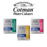 Winsor & Newton Cotman Watercolours - Half Pan Refill