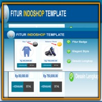 Indoshop Blog Template Toko Online