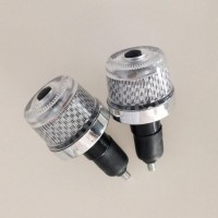 jalu stang led motor nyala variatif / lampu handle sepeda unik
