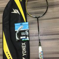 raket yonex voltric 200 LD + BG 6 dan Cover