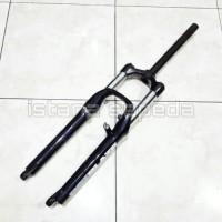 harga NEW FORK GARPU SEPEDA MTB RST BLAZE BLACK HITAM TRAVEL 120MM PRELOAD Tokopedia.com