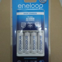 Panasonic Eneloop Basic Charger + 4 Battery 2000mAh