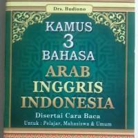 harga KAMUS 3 BAHASA - ARAB, INGGRIS DAN INDONESIA Tokopedia.com