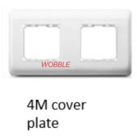 AgileStyle Philips 4M Size Cover Plate + Grid