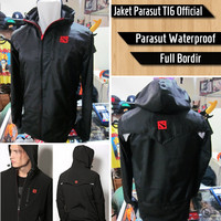Jaket Dota TI6 Official Parasut || Jumper Navi Secret Hoodie Baju