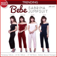 Bebe Sabrina Jumpsuit Playsuit Celana Wanita JP197
