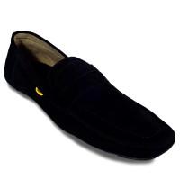 Country Boots Black Belt Moccasin | Sepatu Casual Pria