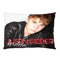 Sarung Bantal Custom Justin Bieber 45x65 cm gambar 2 sisi #1301