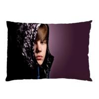 Sarung Bantal Custom Justin Bieber 45x65 cm gambar 2 sisi #1401