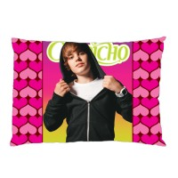 Sarung Bantal Custom Justin Bieber 45x65 cm gambar 2 sisi #1501