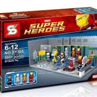 Lego Sy 305 Iron Man Lab