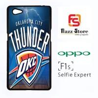 Oklahoma City Thunder OKC A0411 Casing HP Oppo F1s Selfie Expert Custo