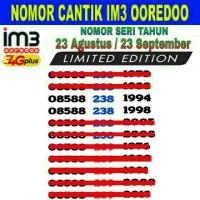 harga Perdana Nomor Cantik Seri Tahun IM3 Ooredoo 4G Tokopedia.com