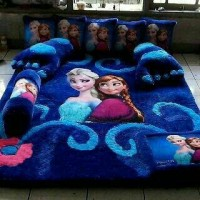 KARPET KARAKTER FROZEN FULL SET