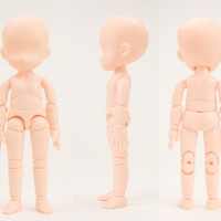 Kid Obitsu Body 11 skala SHF / Figma body kun chan KWS