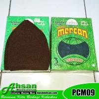 Peci Haji Coklat Gelap PCM09