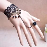 harga C70238 gelang set cincin korea bahan lace cosplay. Tokopedia.com