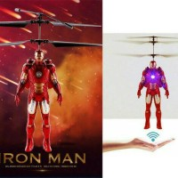 Flying Doll Action Figure Ironman The Avenger Mainan Anak