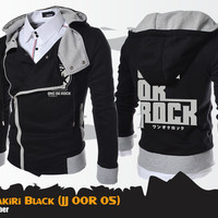 One Ok Rock - OOR HARAKIRI Jaket Hoodie Korea Band Music Jepang BLACK