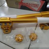 harga Gold Stang Jepit Nui Kitaco Ninja 250r Ninja 250 Fi With Tutup Shock Tokopedia.com