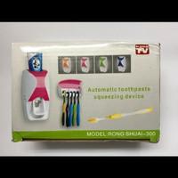 dispenser odol / tempat rak sikat gigi