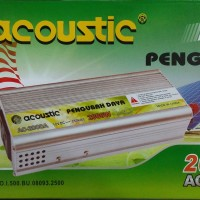 Acoustic AC-2000A Power Inverter 2000W Pengubah Tegangan Listrik 12VDC