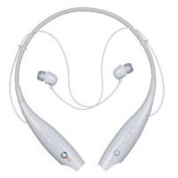 Headset bluetooth LG Tone + Wireless Stereo Henset / Putih Hitam