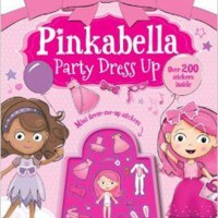 harga Pinkabella Dress Up Sticker Book:pinkabella Party Dress Up Tokopedia.com