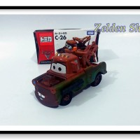 Mainan Diecast Tomica C-26 Disney Pixar Karakter Film Cars - Mater