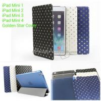 IPad Mini 1/2/3/4 Golden Star Cover Hard Case