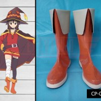 Sepatu cosplay Konosuba megumin