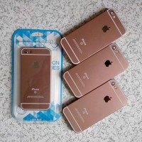 Casing Iphone 5/5S (iPhone 6/6S Pink Rose Gold Edition) PROMO MK