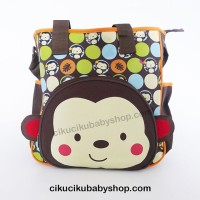 Diaper Bag Motif Monkey / Tas Bayi