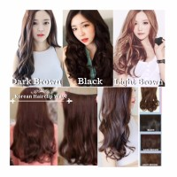 Korean Hairclip Big Layer 60cm 1 Layer/FullHead Hair Clip 7revolution