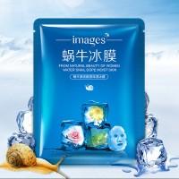 ICE MASK Snail Repair images /masker siput (BOX ISI 6 PCS)