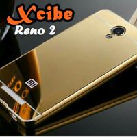 Xiaomi Redmi Note 2 - Prime Case Mirror Alumunium casing cover cermin
