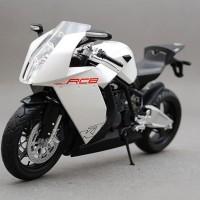 Diecast Motor KTM - RC8 Sport Joycity Premium Collection, White 1/12