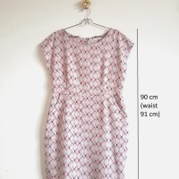 Minimal Midi Dress Abu Pink