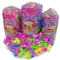 Mainan Edukatif Edukasi Anak Balok Bangun Lego Block Gold Kids 170 SNI
