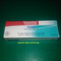 Canesten 5 gram / Salep Jamur / Kutu air / Kurap / Kudis