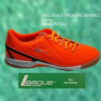Sepatu Futsal LEAGUE ACE PREMIERE ADVANCE orange Diskon [Distributor]
