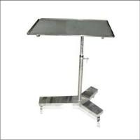 meja mayo / overbed table / meja makan rumah sakit stainless stell