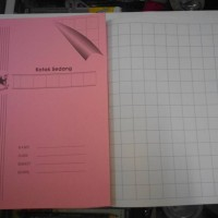 Buku Tulis Kotak Mandarin Kotak Sedang (11x14 Kotak) Paper Chinesse