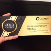 Voucher Training / Kursus IT sertifikat Cisco CCNA Course-Net Jakarta